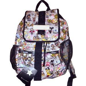 TokiDoki For LeSportsac SCUOLA TRASPORTO Backpack